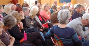 Audience, Val McDermid event