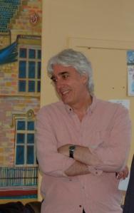 David Francis, Host, Chair, Supporter Portobello Book Festival