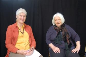 Anne Gilchrist with Isla Dewar