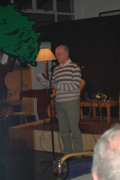 James Spence - opening night