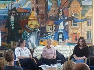 Joanne Baird, Jenny Harper, Jen Mouat