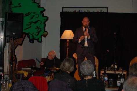 Steve Baird and Ian Ireland - opening night